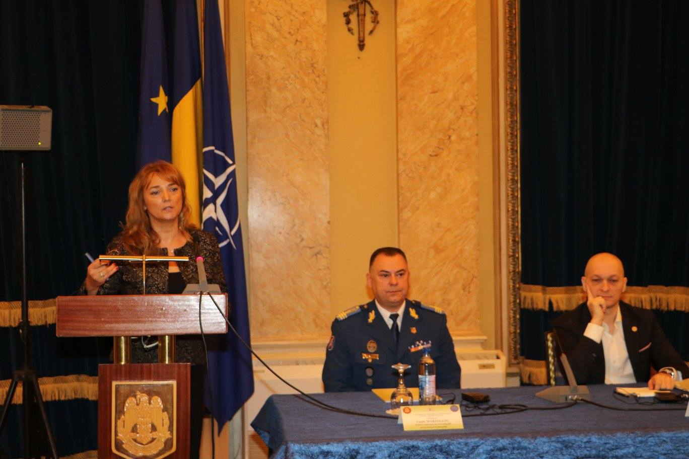 Dr. Sanela Dursun was the keynote speaker at the International Military Behavioural Sciences Conference hosted by Romania Ministry of National Defence in Bucharest in September 2016.