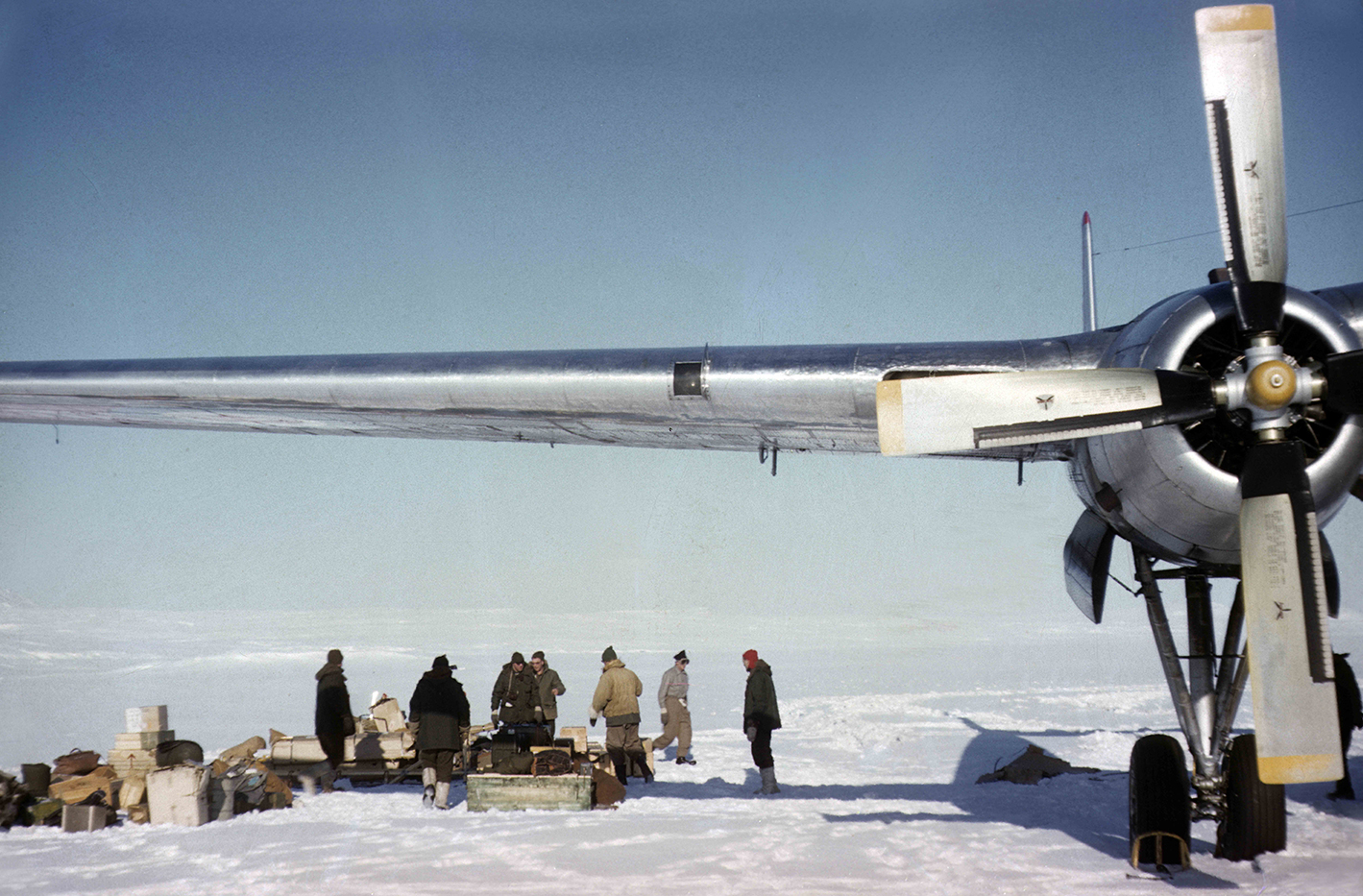 Defence Research and Development Canada (DRDC) has been conducting research at Alert and in the High Arctic for the past 60 years. Provided by Library and Archives Canada.