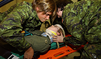 S&T personnel help the CAF to advance knowledge and techniques in a variety of medical areas.