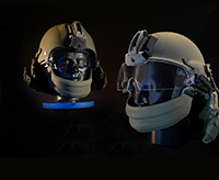 The advanced modular integrated helmet system improves soldier survivability.