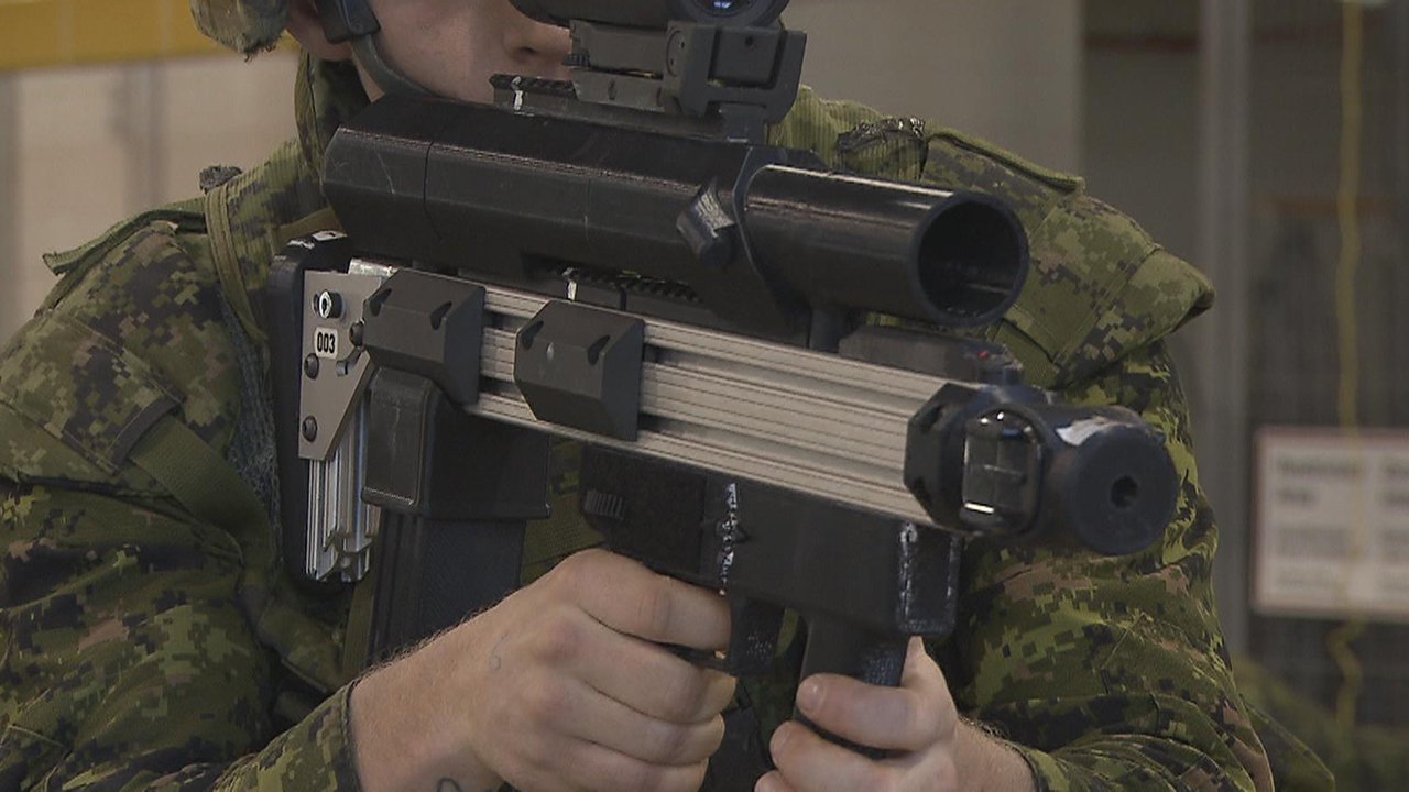 Image result for The Canadian Army's Smart Rifle Looks Like Sci-Fi